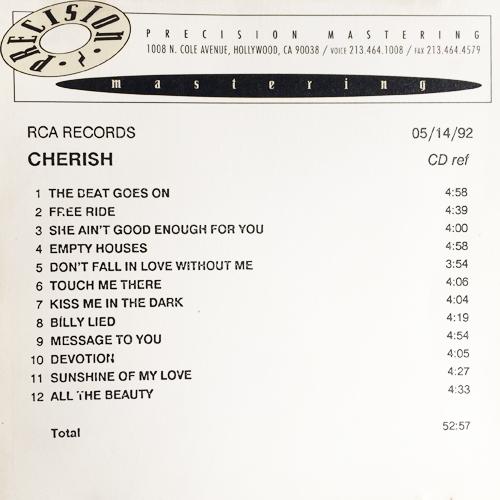Cherish Alexander, RCA Records